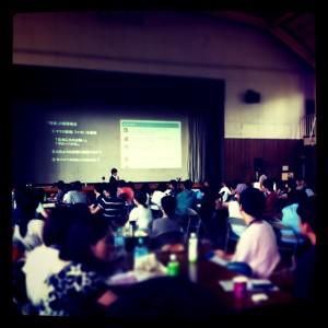 [Websig 1日学校2011] 授業風景