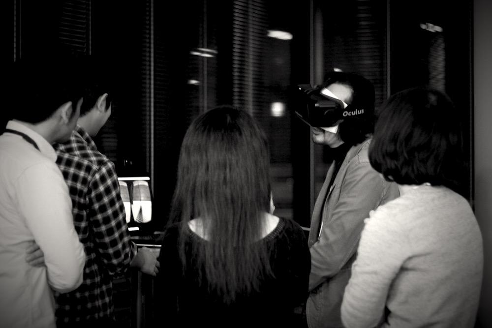 Oculus Rift 体験